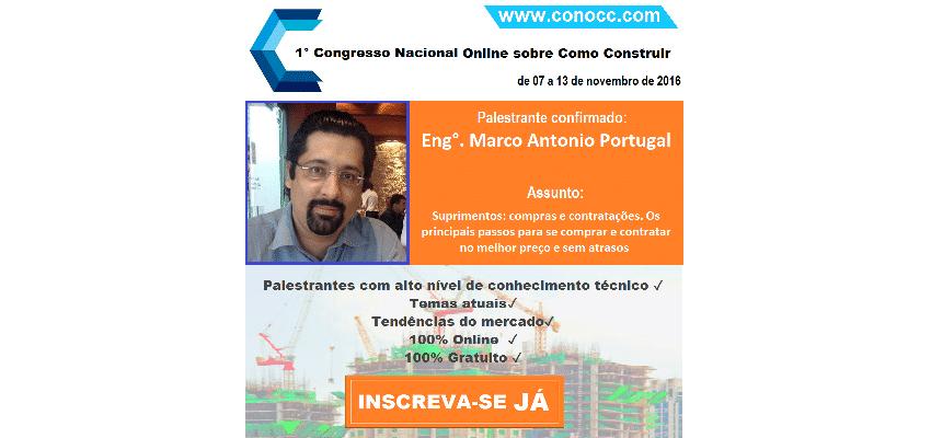 CONOCC – Congresso Nacional Online sobre Como Construir